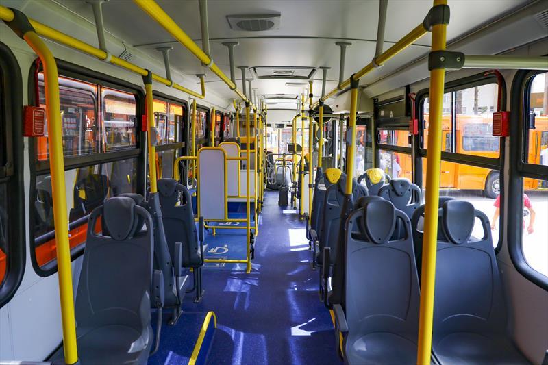 Cajuru Interior Ônibus Linhas de ônibus