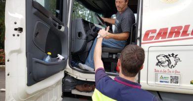Serra Segura veículos pesados