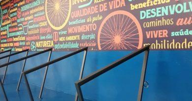 bicicletário shopping mueller