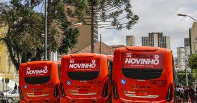 novos ônibus numeração
