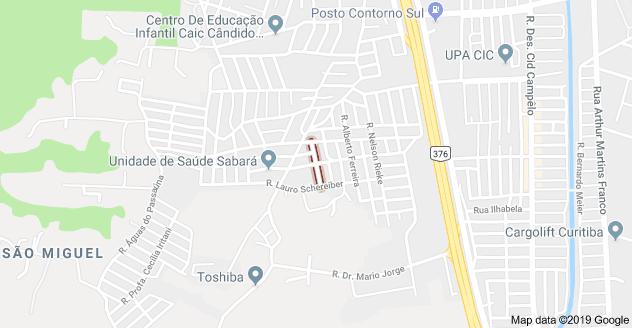 Cidade Industrial de Curitiba Rua Sérgio Alessandro Gonçalves