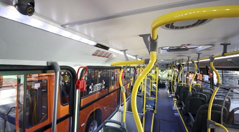Câmeras nos ônibus Guarda Municipal