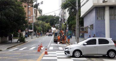 fiscalização centro Rua Alfredo Bufren
