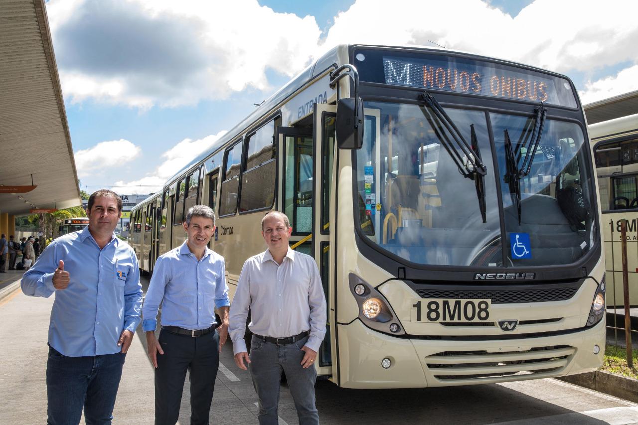 modelo de ônibus multimodal