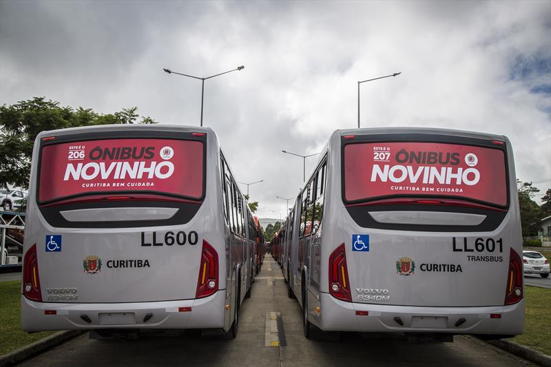 novos ônibus em circulação