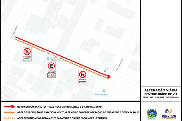 Alteração Rua André Zen
