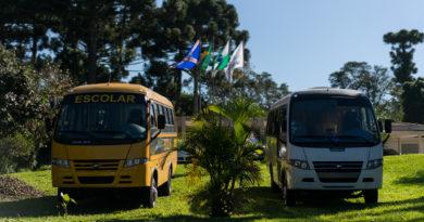 Novos ônibus Campo Largo