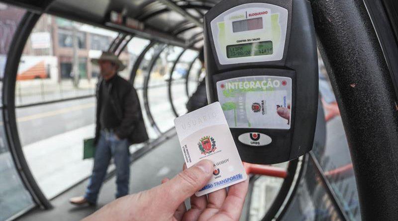 Pagamento Sistema de Transporte Cartão-Transporte