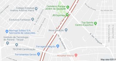 Rua João Bettega em Curitiba