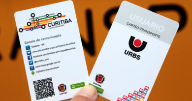 Cartão-Transporte Curitiba Transporte coletivo