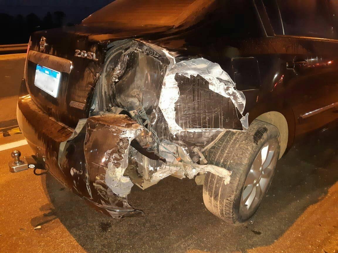 Colisão Nissan Sentra