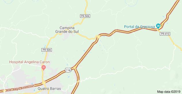 Rodovia BR-116 Campina Grande do Sul