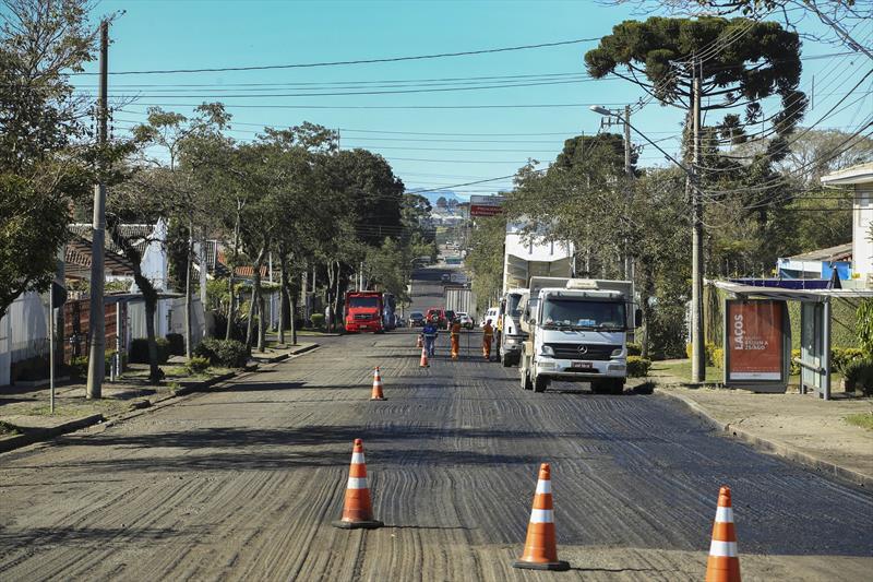 Rua Fagundes Varela asfalto