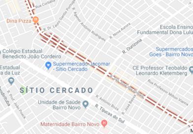 Rua São José dos Pinhais Sítio Cercado