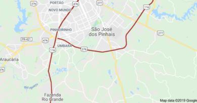 BR-116 São José dos Pinhais