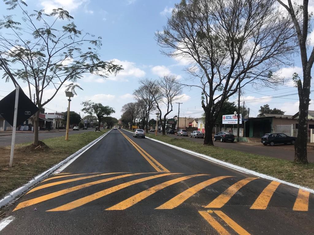 BR-272 em Campo Mourão