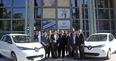 Carros elétricos da Renault