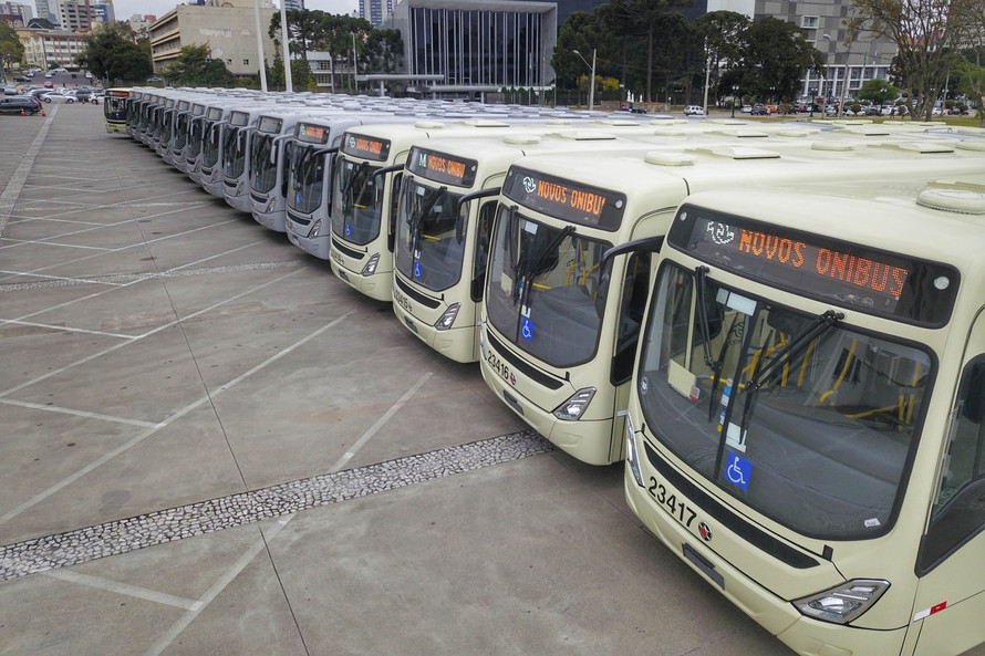 Novos ônibus metropolitanos