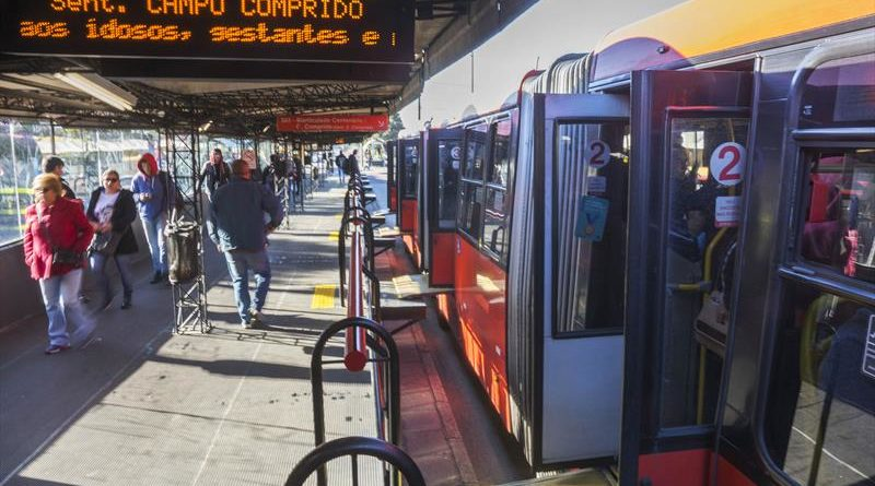 Importunação Ônibus em Curitiba Transporte Coletivo