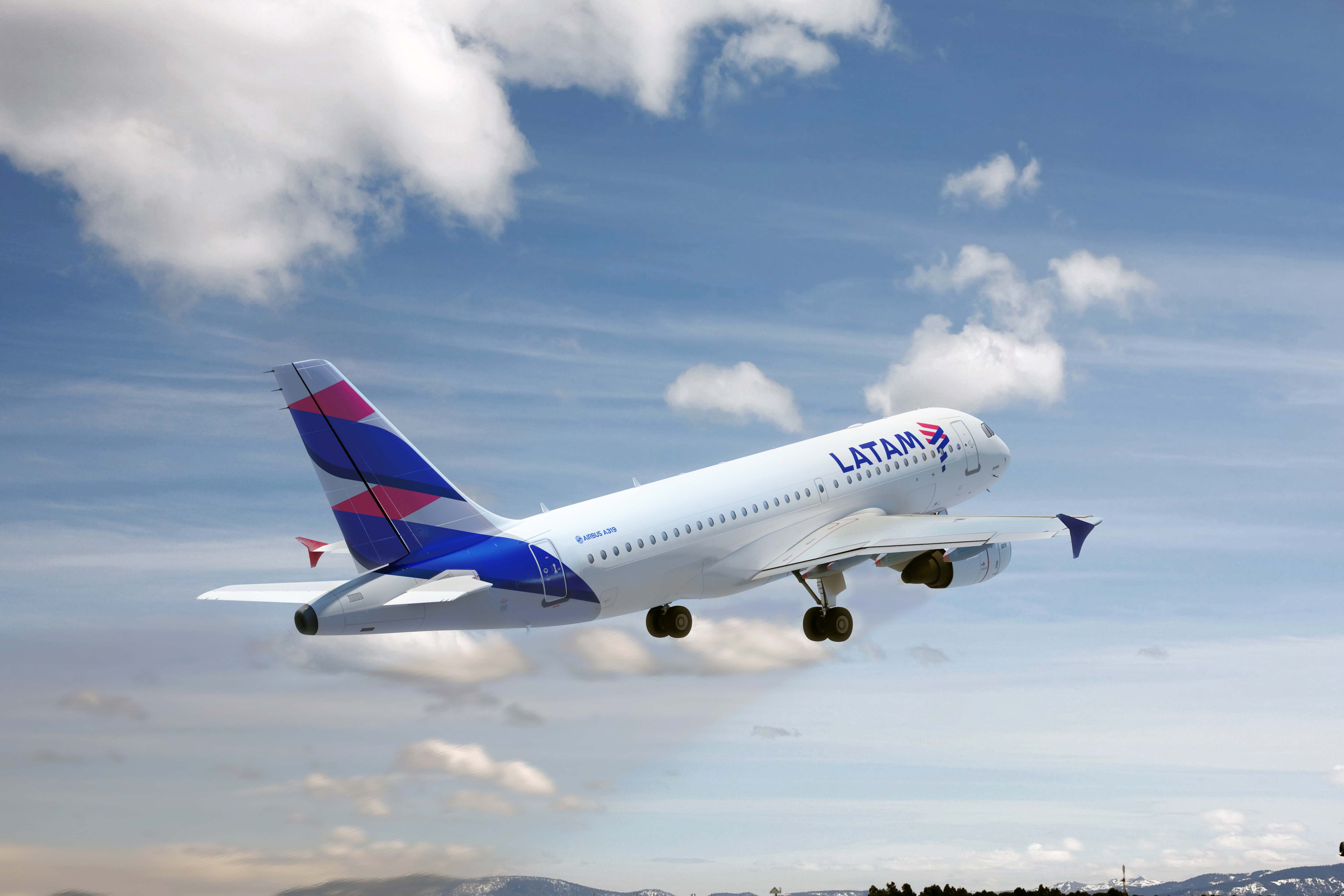 Airbus A319 LATAM Voos domésticos
