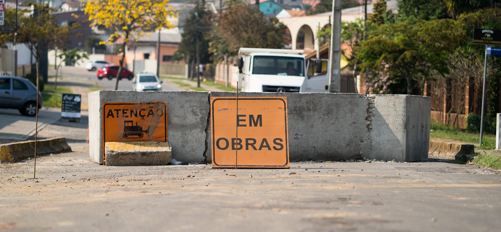 Ponte Rua Quintino Bocaiúva