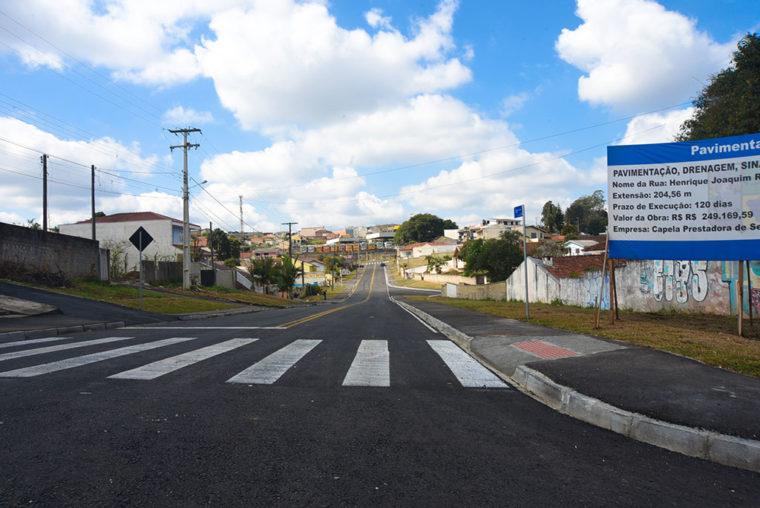 Rua Henrique Joaquim Ribeiro