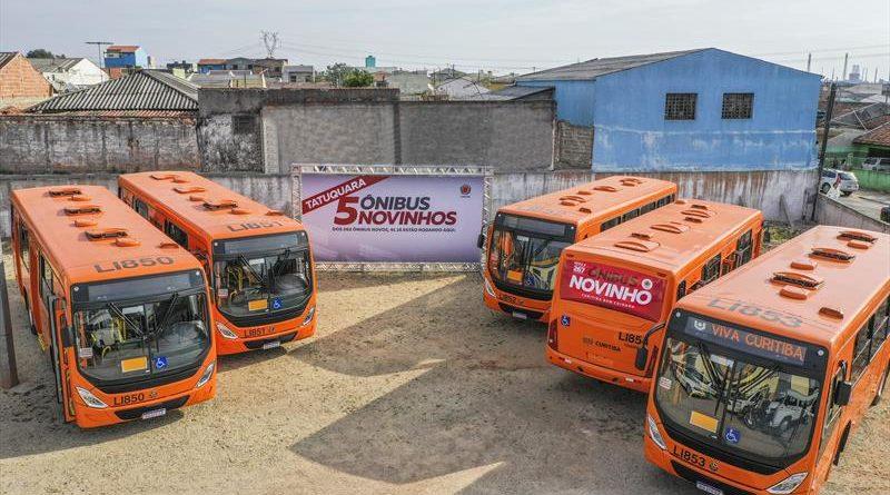 Ônibus novos Tatuquara