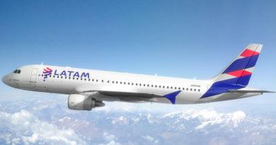 Airbus A320 Latam Santiago