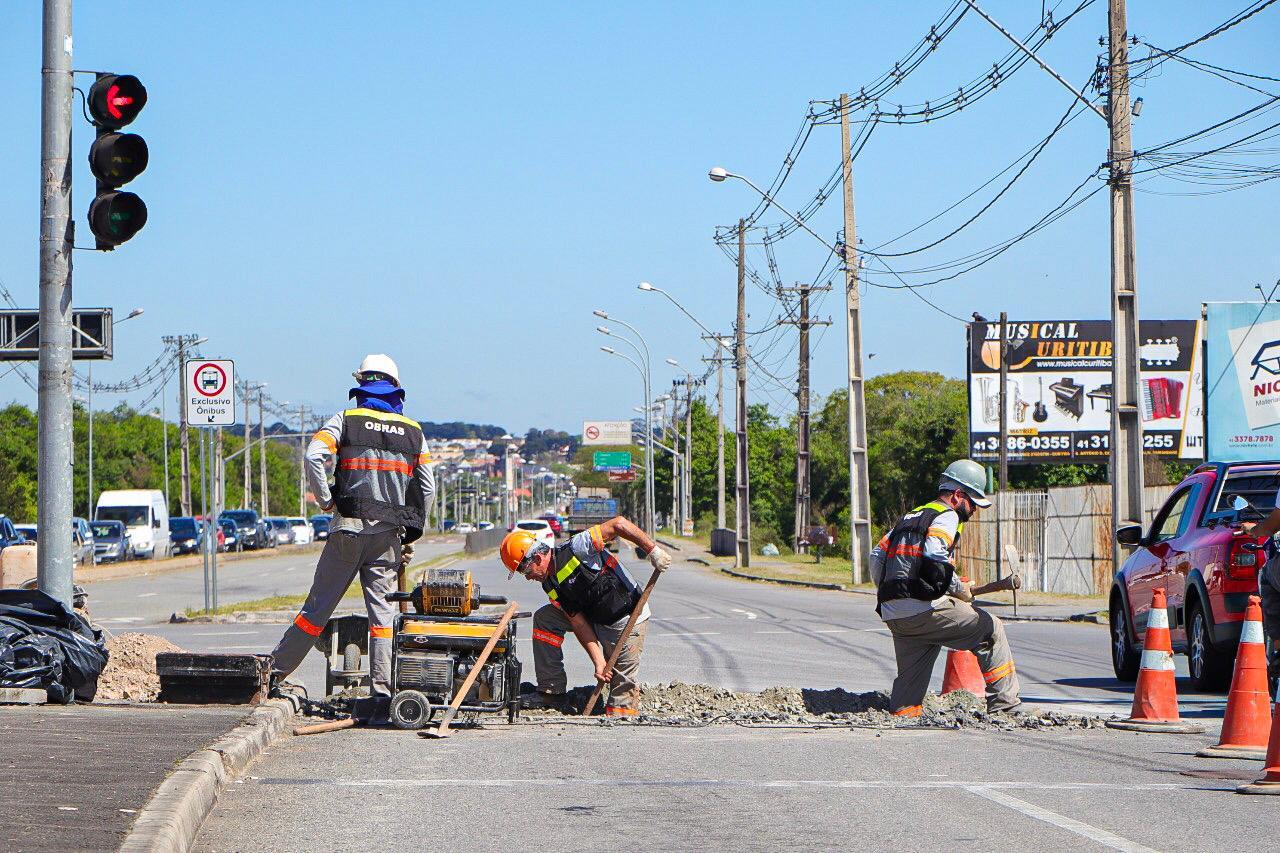 Obras Avenida das Américas