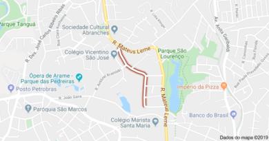 Rua Vitório João Brunor Abranches