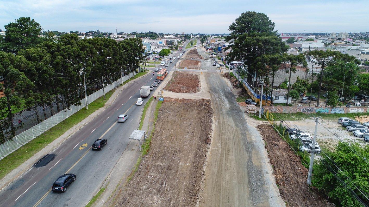 Avenida Maringá em Pinhais