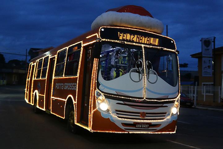 Viação Campos Gerais Ônibus Natalino