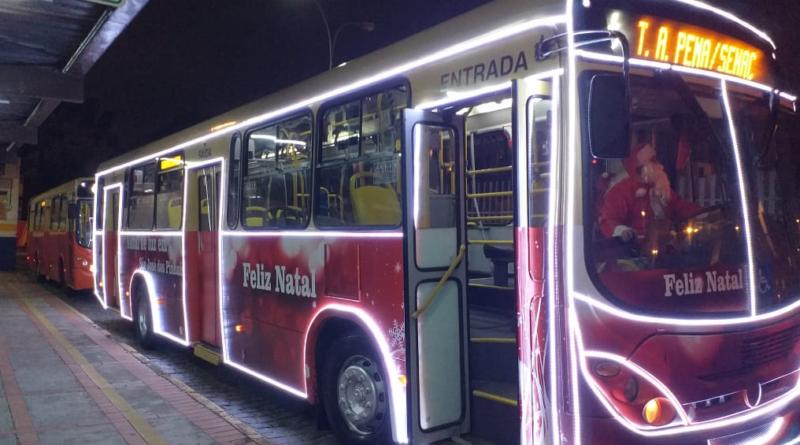 Ônibus natalino São José dos Pinhais