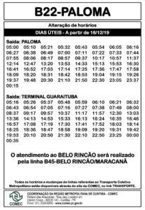 B22 Paloma