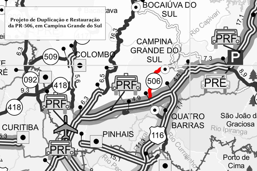 Mapa PR-506