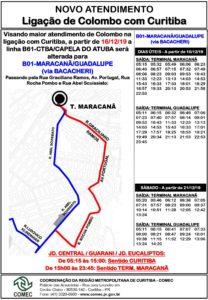 Novo atendimento Colombo Curitiba