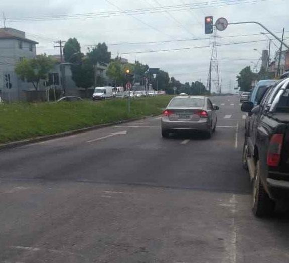 Retirada de lombada Rua Tijucas do Sul