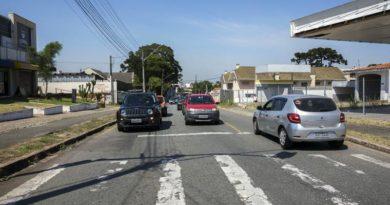 Rua Francisco Klemtz Binário no Portão