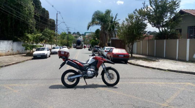 Caminhão Rua João Parolin