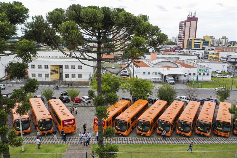 Cidade ônibus Novos ônibus