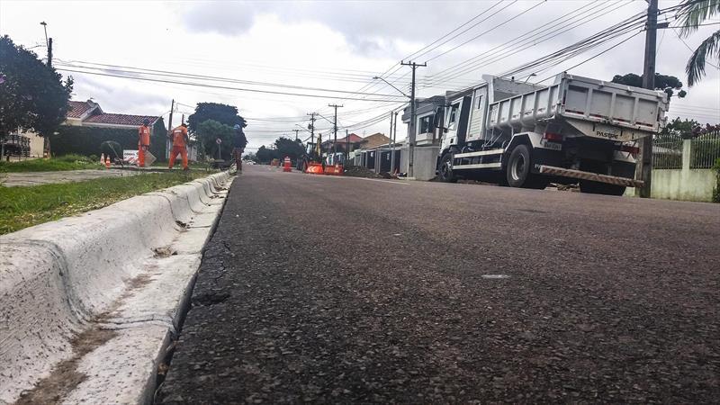 Rua Niterói no Cajuru