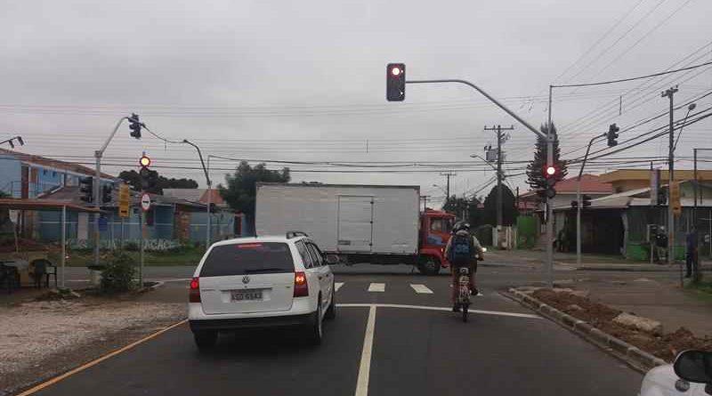 Semáforos na cidade