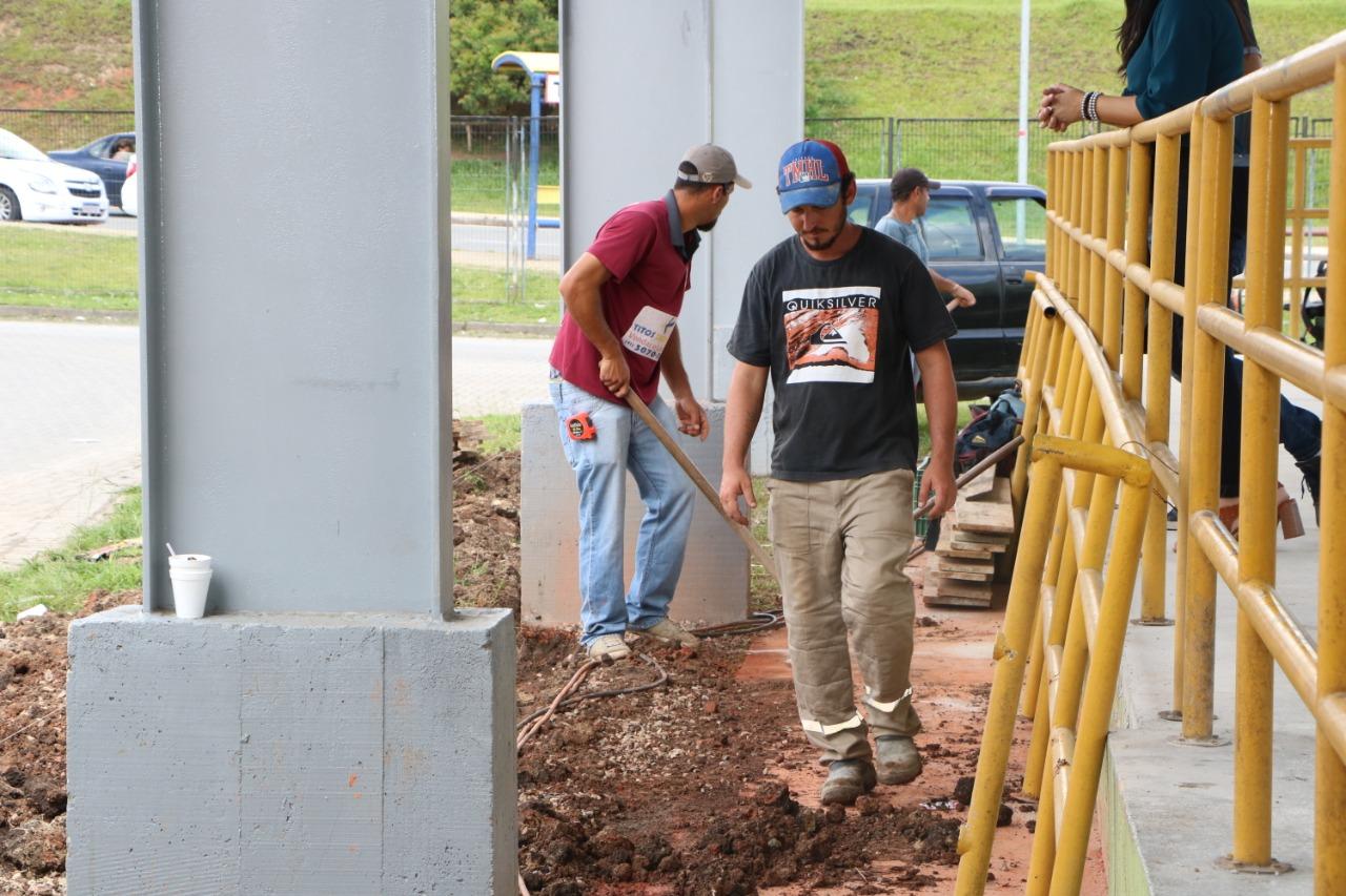 Terminal Fazenda em Obras
