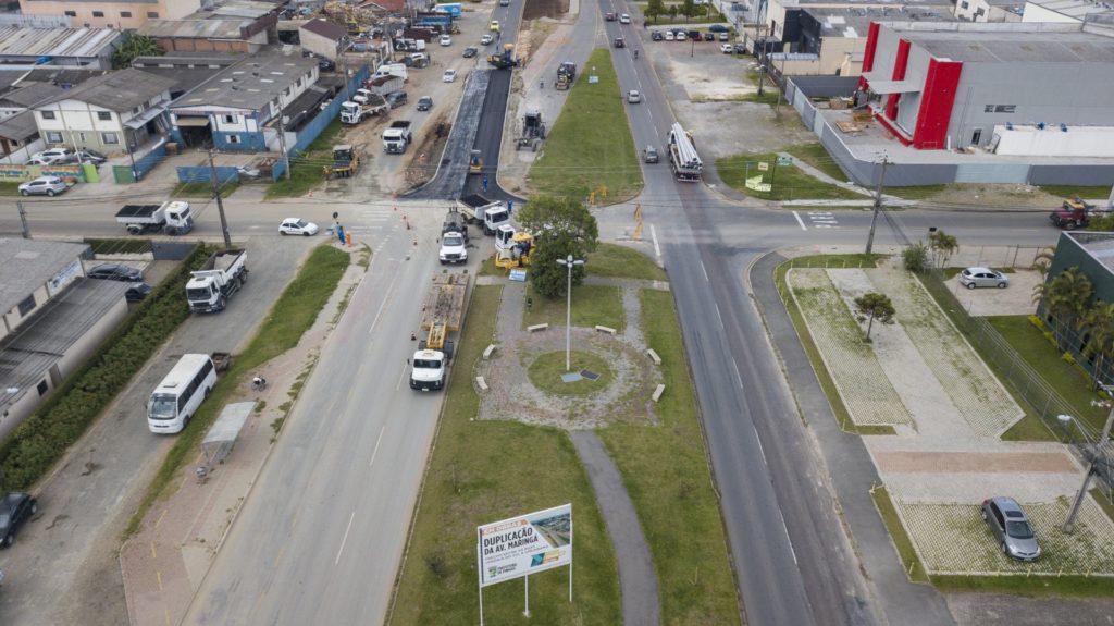 Avenida Maringá Obras