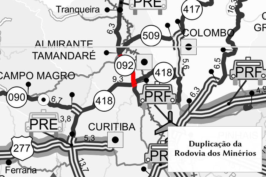 Minérios Mapa