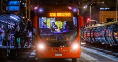 Ônibus Curitiba Lotação
