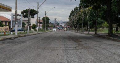 Asfalto novo Curitiba