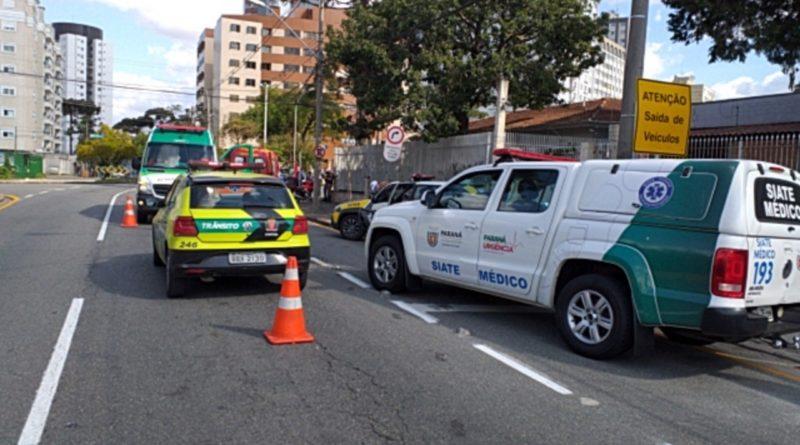 Acidente Rua Tamandaré