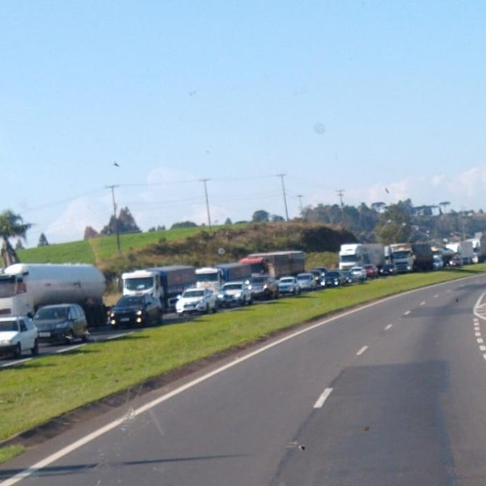 BR-277 Obras Campo