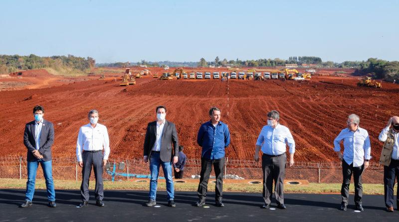 Aeroporto Foz Obras